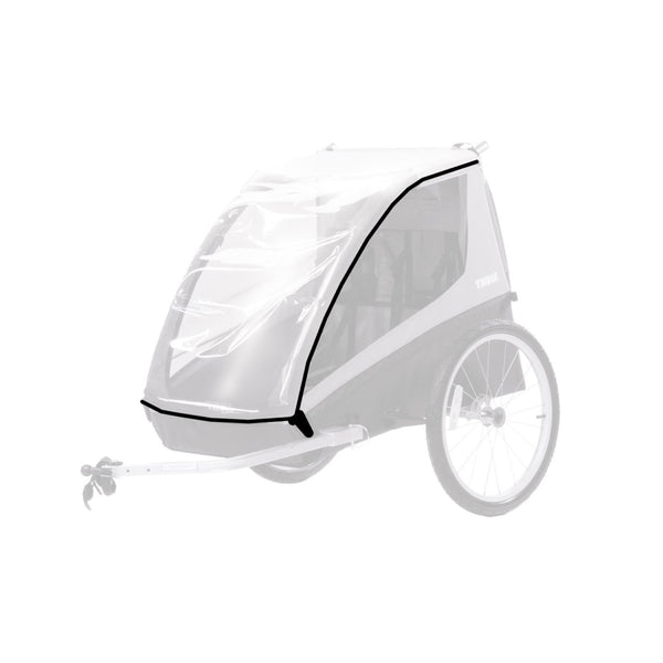 Chariot Thule Rain Cover 2 for Coaster & CadenceTrailers