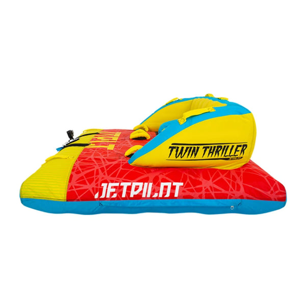 Jetpilot Twin Thriller Two Person Multi Directional Towable Ski Tube JA20009