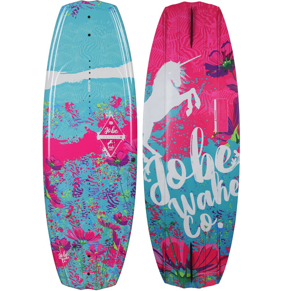 Jobe Vector Junior Girls Wakeboard with Cloud Boots Size 3-6 124cm