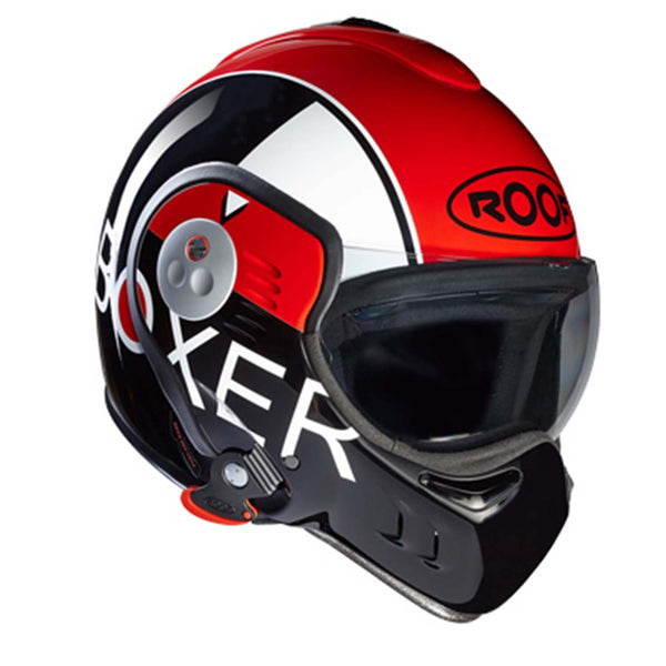 Roof Boxer V8 Grafic Black/Red Full Face Helmet