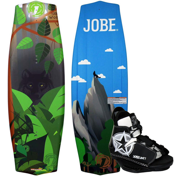 Jobe Wolf Kids Wakeboard With Unit Binding Package 128cm