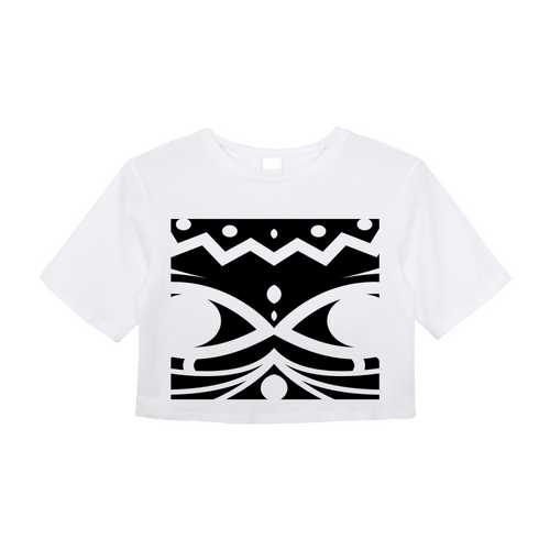 BOREGARD. Big Logo Crop Top