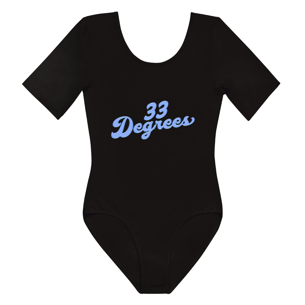 N33ZY '33 Degrees' Short Sleeve Bodysuit