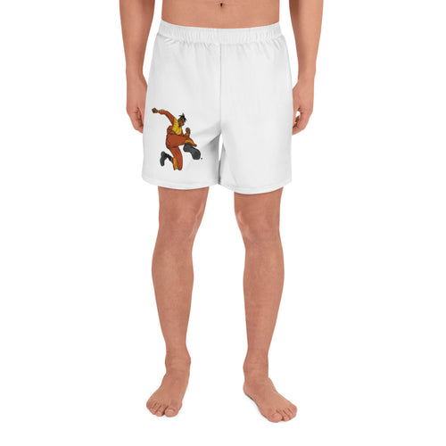 BOREGARD. Bruce Lee Workin' Men's Athletic Long Shorts