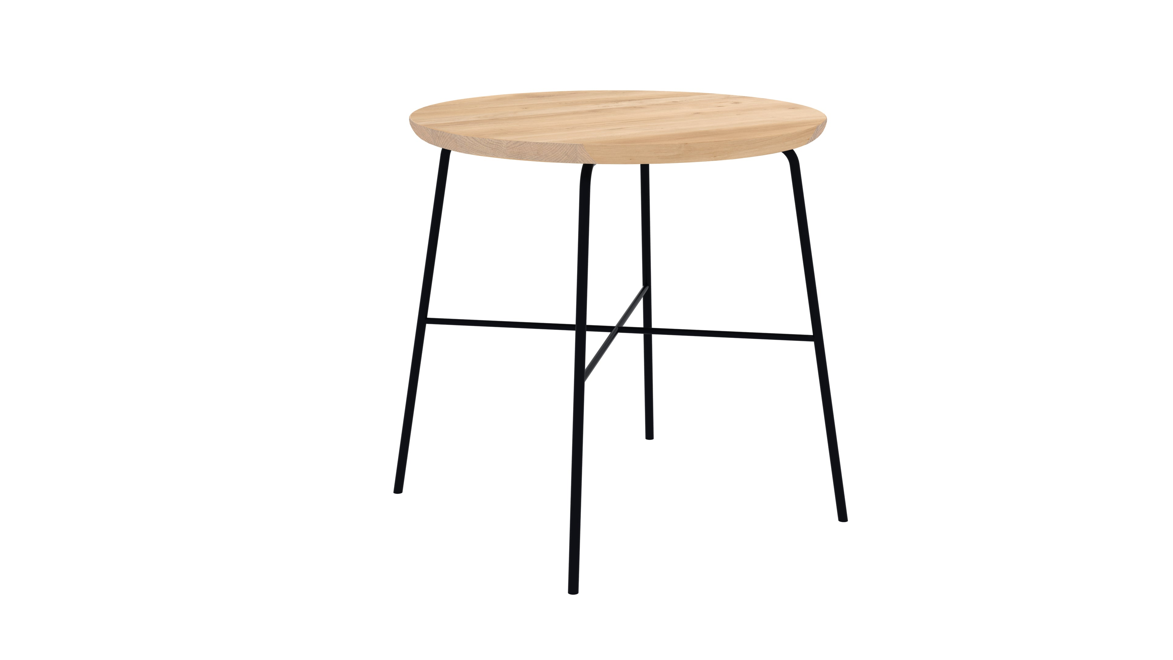 Table d'appoint Disc Chêne massif - Ethnicraft