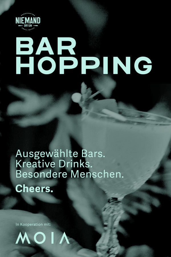 Niemand Bar-Hopping Gutschein