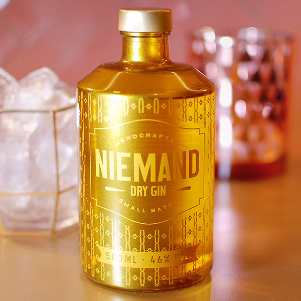 Niemand Dry Gin Gold Edition 0,5 L