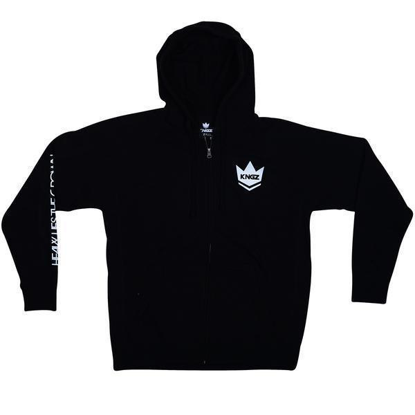 Kingz Heavy Lies the Crown Hoodie Black