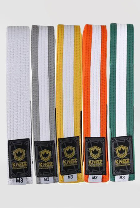 Kingz Kids Belts with White Stripe