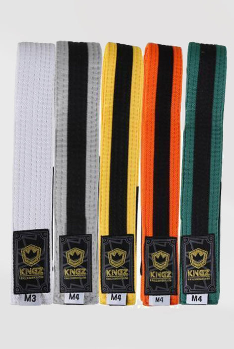 Kingz Kids Belts with Black Stripe