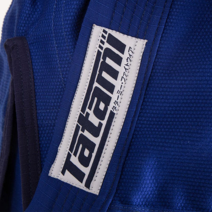 Tatami fightwear Elements Ultralite 2.0 Gi blue logo brand