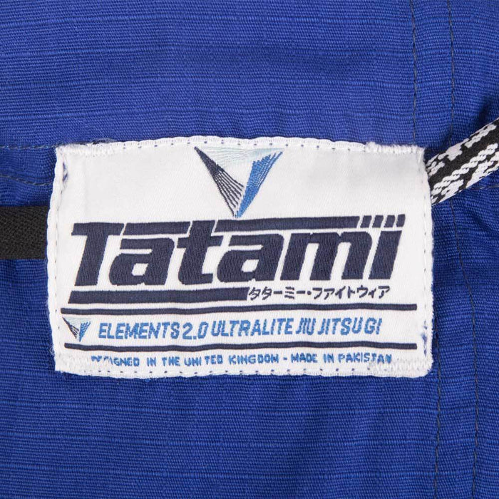 Tatami fightwear Elements Ultralite 2.0 Gi blue logo pants