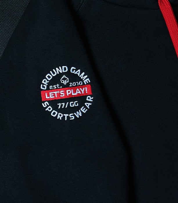 Ground Game Mini Logo 2 Hoodie with Zipper