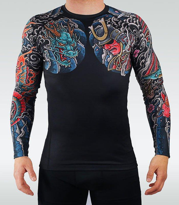Ground Game Bushido 3.0 Rashguard Long Sleeve