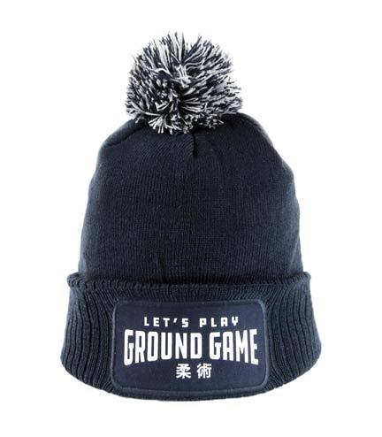 Ground Game Winter Hat Navy Blue
