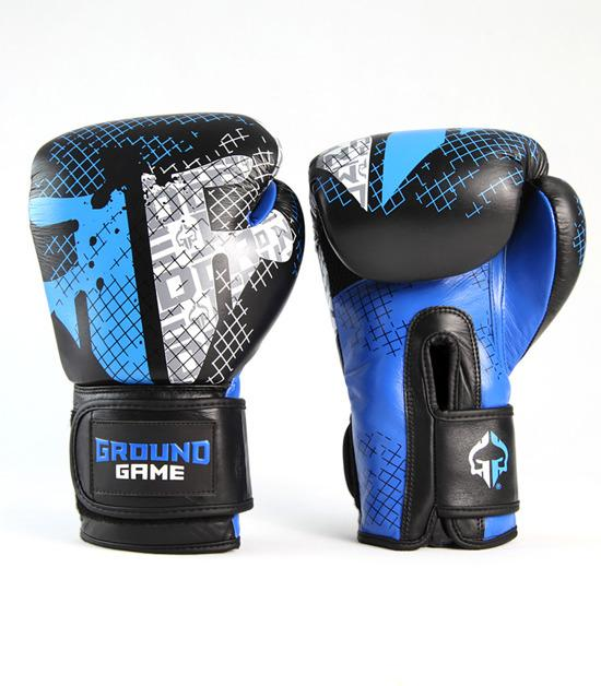 Front view of a Ground Game Cage Boxing Gloves PRO
