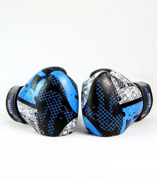 Side view of a Ground Game Cage Boxing Gloves PRO