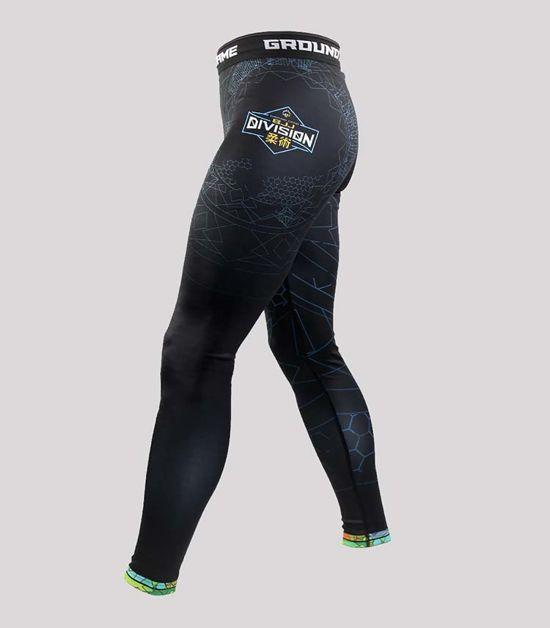 Side view of a Ground Game Carioca Leggings