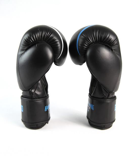 Side view of a Ground Game Logo Boxing Gloves
