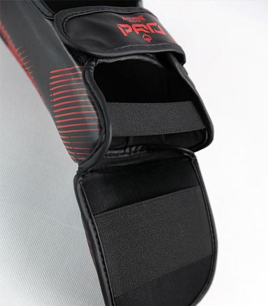 Back view of a Ground Game Red Skull Shin Guards