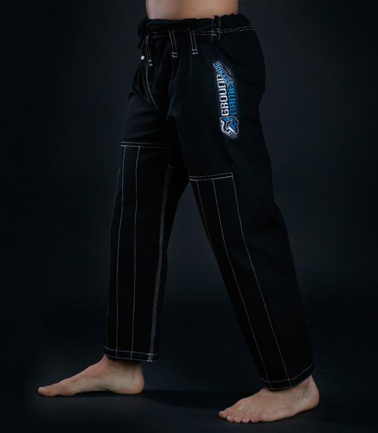 Pants of a Ground Game Rookie BJJ Gi Black
