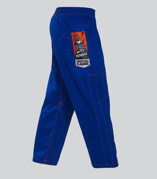 Pants of a Ground Game Tensai BJJ Kids Gi Blue