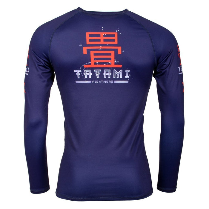 Tatami Samurai 2099 Rash Guard Long Sleeve