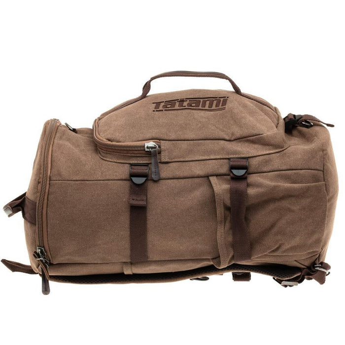 Tatami Weekender Holdall bjj bag duffle sports backpack side left
