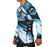Fuji Ice Rashguard Long Sleeve blue side left