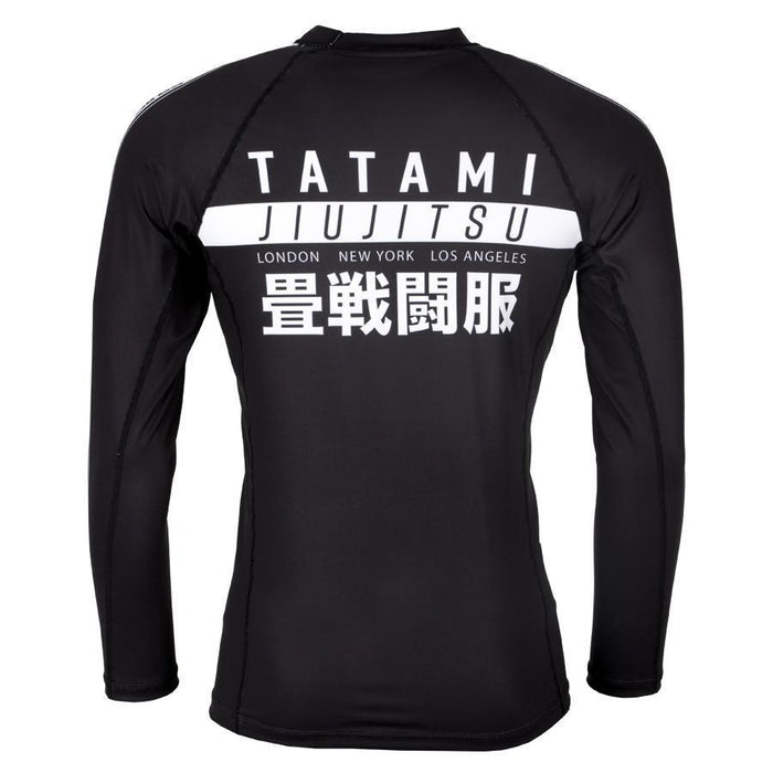 Tatami Worldwide Jiu Jitsu Long Sleeve Rash Guard