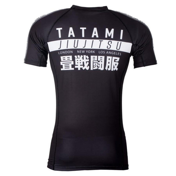 Tatami Worldwide Jiu Jitsu Rash Guard Short Sleeve