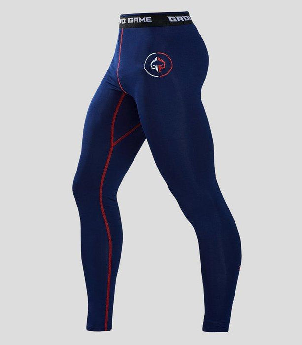 Ground Game Athletic 2.0 Leggings Navy Blue