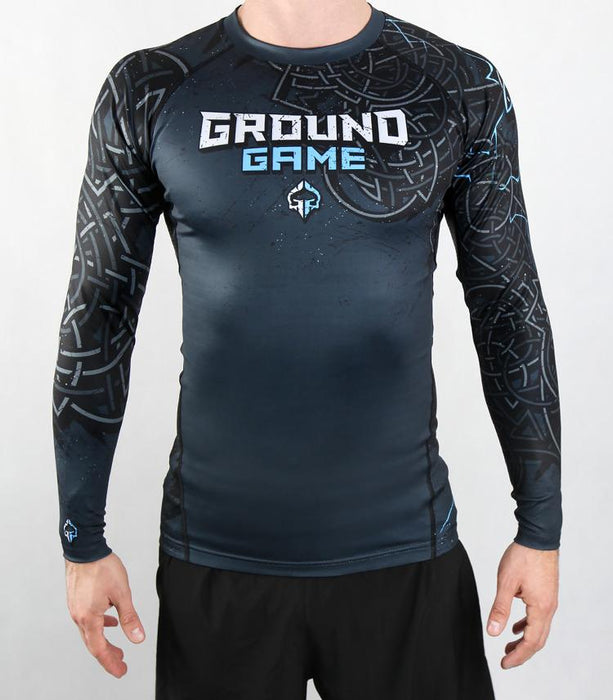 Ground Game Thor Rashguard Long Sleeve