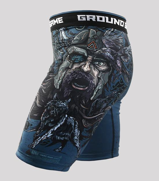 Right side view Ground Game Odin Vale Tudo Shorts