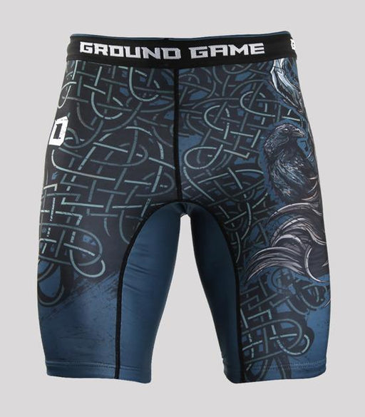 Front view of a Ground Game Odin Vale Tudo Shorts