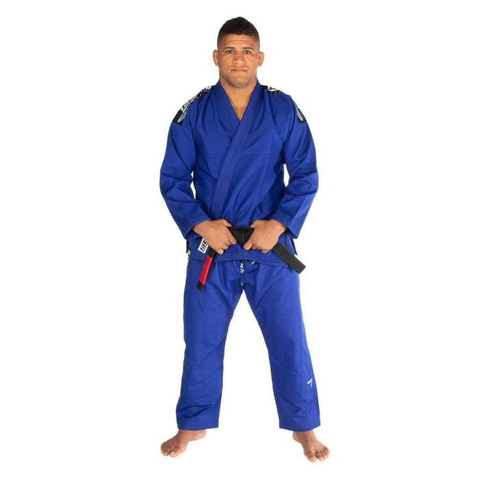 Tatami fightwear Elements Ultralite 2.0 Gi blue front standing