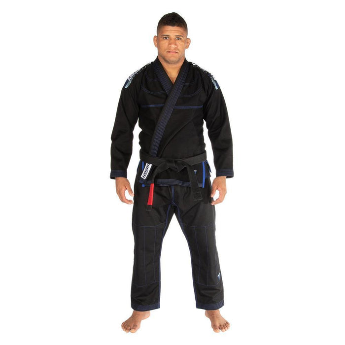 Tatami fightwear Elements Ultralite 2.0 Gi black front standing