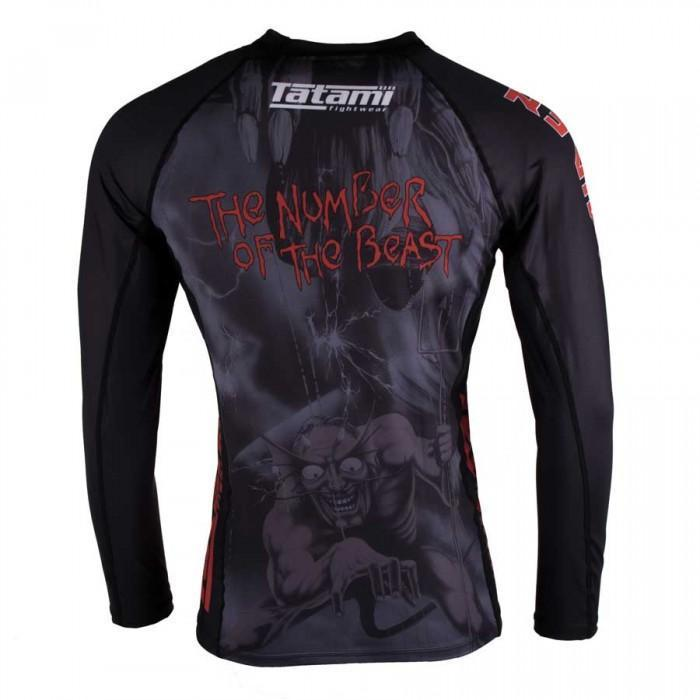 Tatami x Iron Maiden Number of the Beast Rash Guard