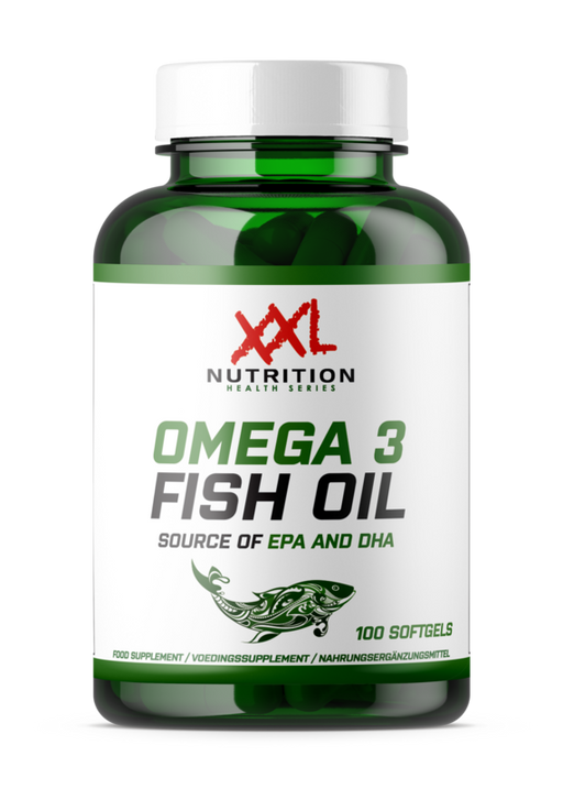 XXL Nutrition Omega 3 Fish Oil