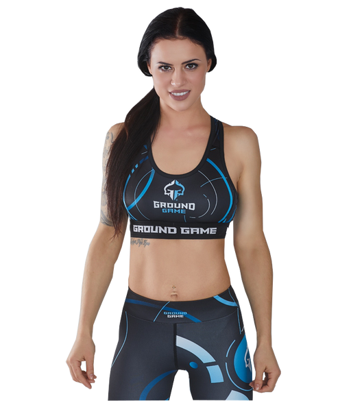 Ground Game Circles Sports Bra