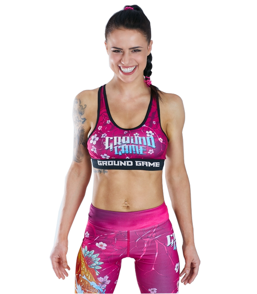 Ground Game Koi Sports Bra