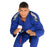 Tatami fightwear Elements Ultralite 2.0 Gi blue front closeup