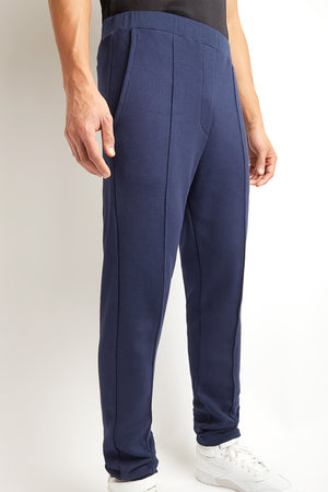 NAVY BLUE COTTON CASHMERE JOGGING TROUSER