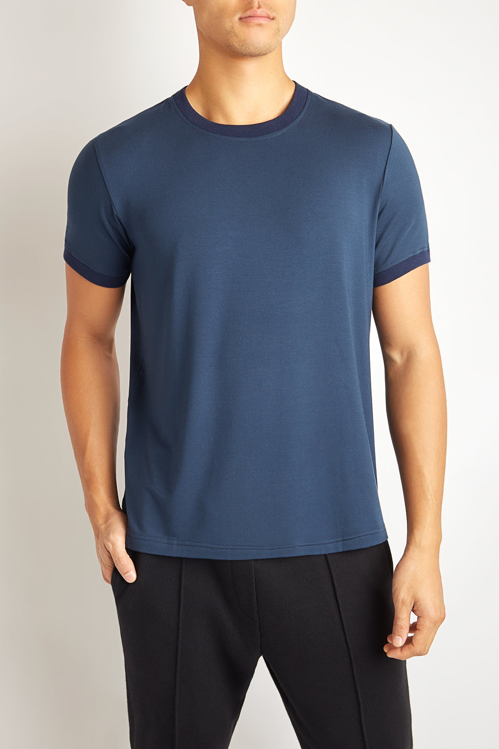 CONTRAST MIDNIGHT BLUE JERSEY