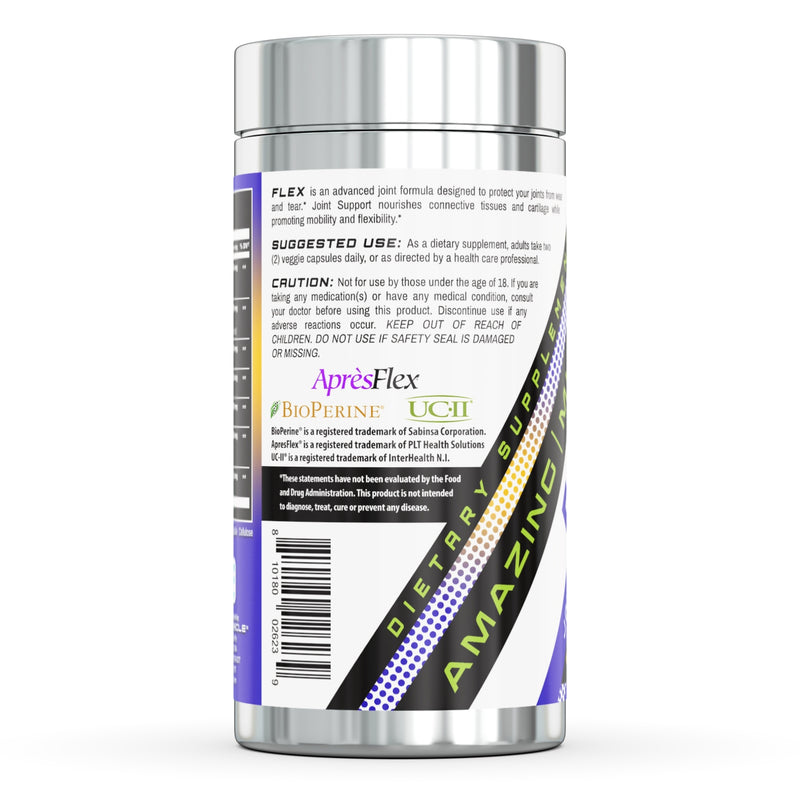 Amazing Muscle Flex - Joint & Flexibility Support - 60 Veggie Capsules