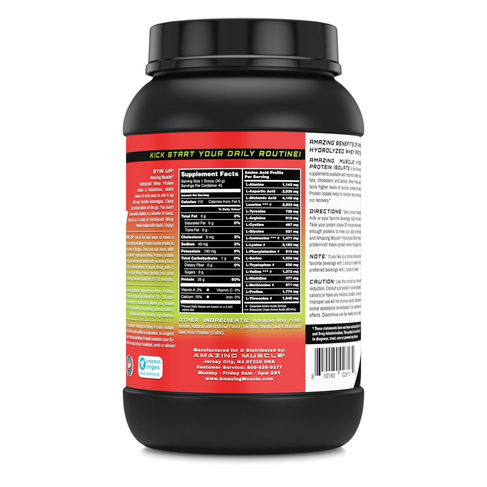 HYDROLYZED WHEY PROTEIN ISOLATE | Ultra-Pure High Performance Protein