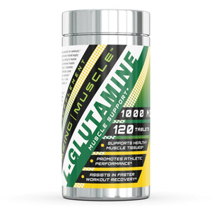 L-Glutamine | Muscle Support 1000 Mg - 120 Tablets