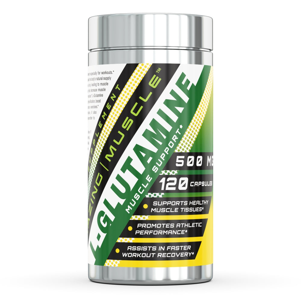 L-GLUTAMINE | Muscle Support - 500mg