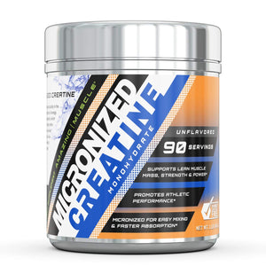 Amazing Muscle Micronized Creatine Monohydrate Unflavored 5g per serving
