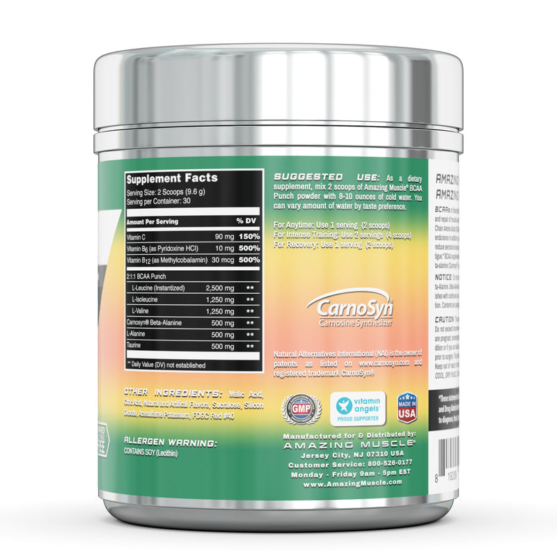 Amazing Muscle - BCAA PUNCH - 30 Servings